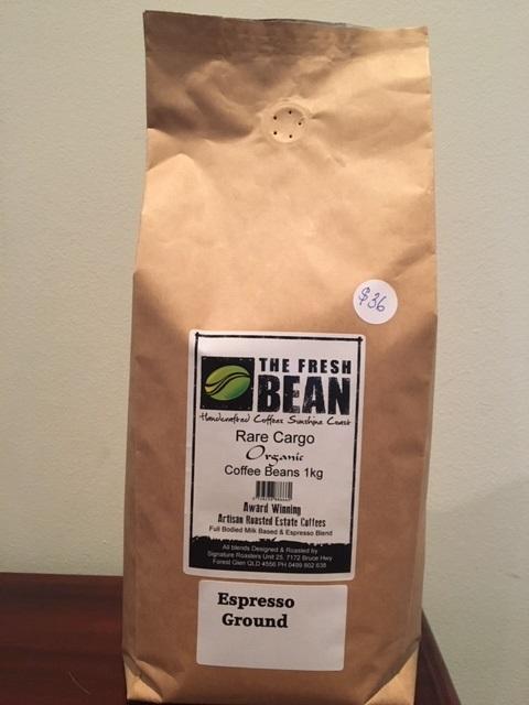 Organic premium Coffee Beans 500g